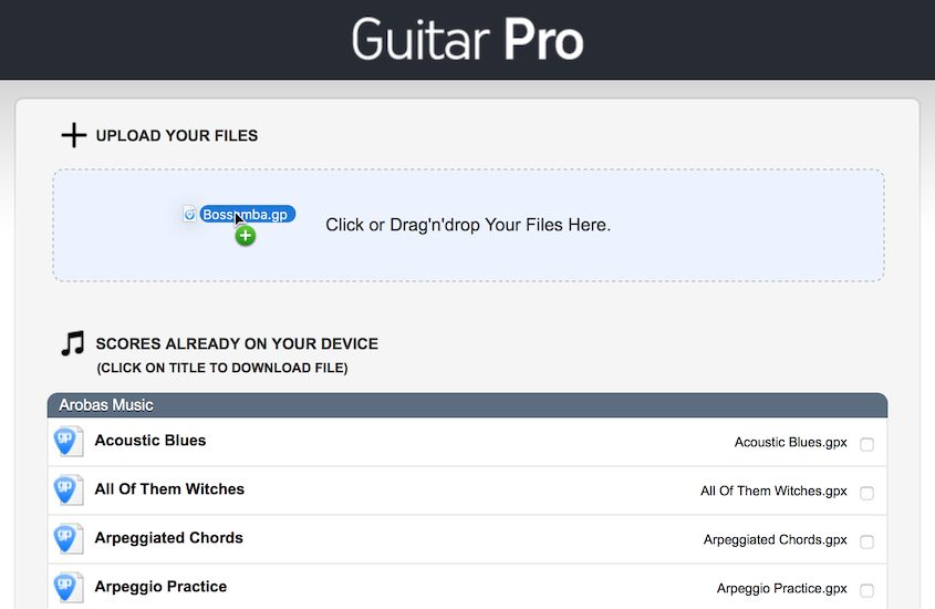 GP Mobile Android - Importing and opening files – Guitar Pro